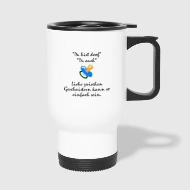 Siblings love - Travel Mug