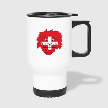 Lion supporter Suisse - Mug thermos