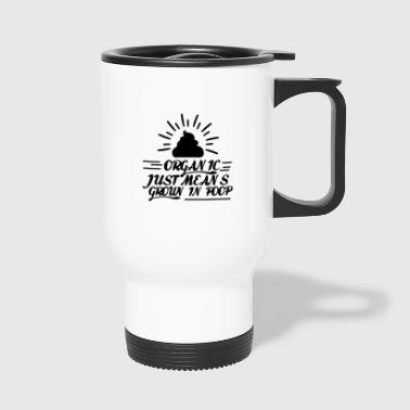 Organic eco - Travel Mug