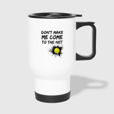 Tennis tennis player tennis court - Travel Mug