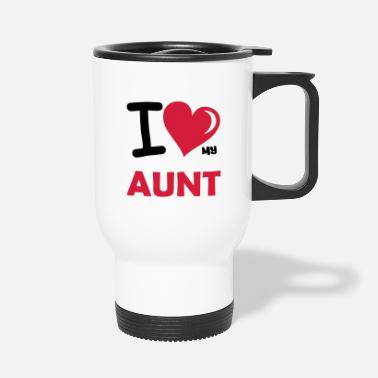 My Heart i love my aunt 02 - Travel Mug