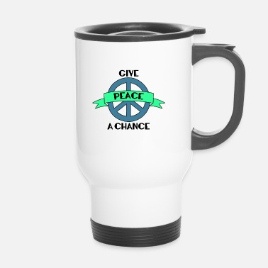 Hippie Hippie / Hippies: Give Peace A Chance - Mug thermos