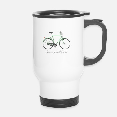Print Fiets print - Thermo mok