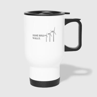 Quote wind energy change wind turbine - Travel Mug