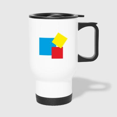 rectangles - Mug thermos
