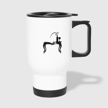 The greyhound - Travel Mug