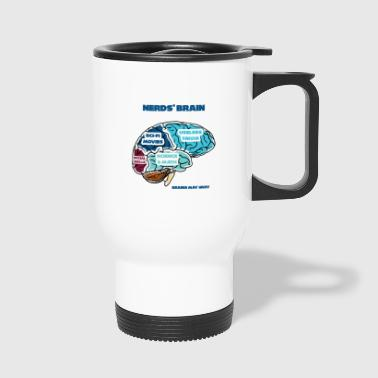 Nerd / Nerds: Nerd's Brain - Travel Mug