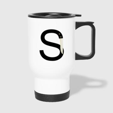 Sharp S - Travel Mug