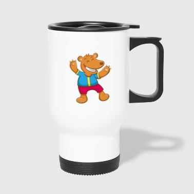 Theo happy bear - Thermo mok