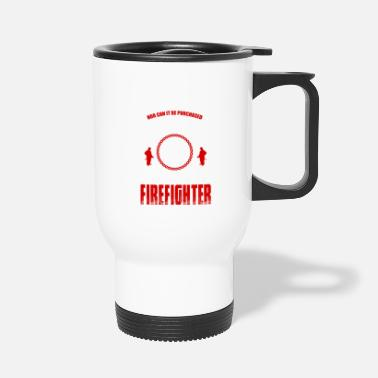 Firebrigade Firefighters firebrigade fire defense defender new ho - Travel Mug