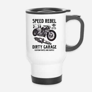 Rebel Flag SPEED REBELL - Travel Mug