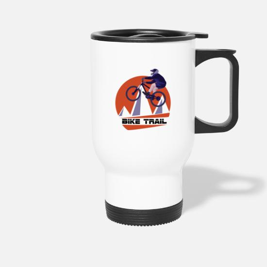 Trail Mugs & Drinkware - Bike tour - Travel Mug white