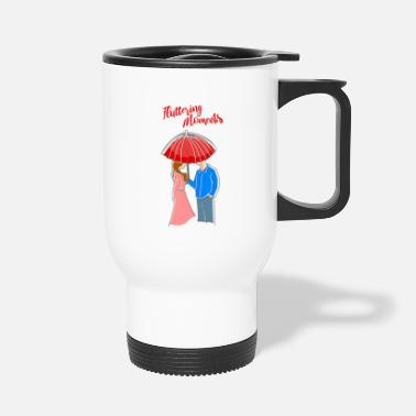 Couples couple couples couple Fluttering moments - Travel Mug