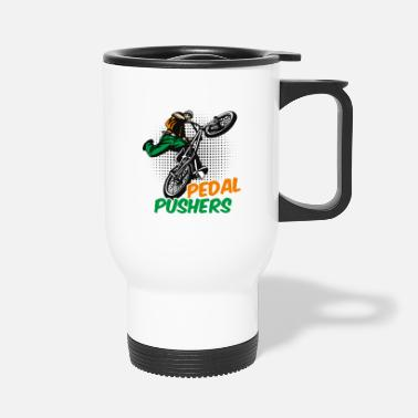 Pedal pedal pushers - Travel Mug