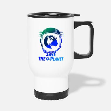 Planet Earth planet save - Thermobecher