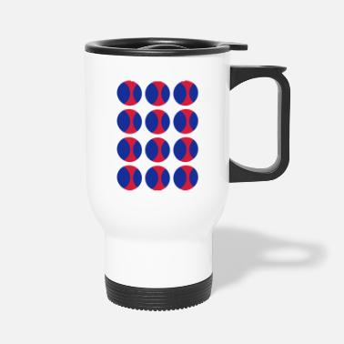 Circle Circles in Circles - Travel Mug