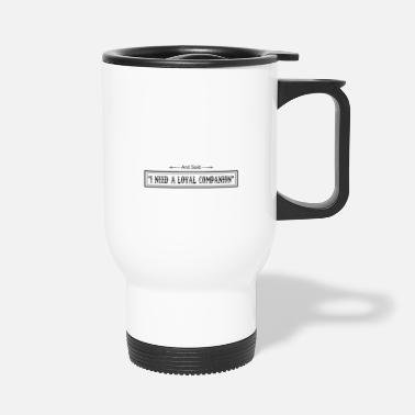 Hundeerziehung On 8th Day God Looked Down Made Bernese - Travel Mug