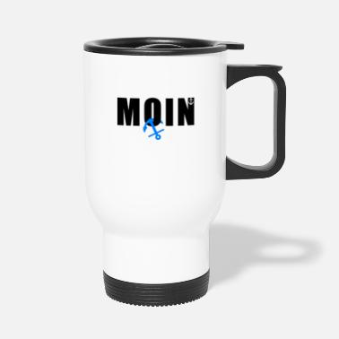 Northern Germany Moin Anker Northern Germany greeting - Travel Mug