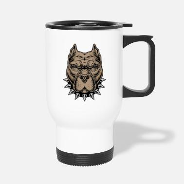 Aggressive Aggressive dog - Travel Mug