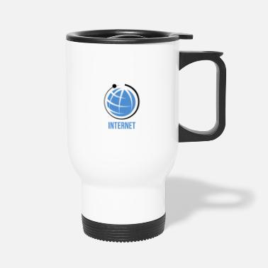 Net Internet net - Travel Mug