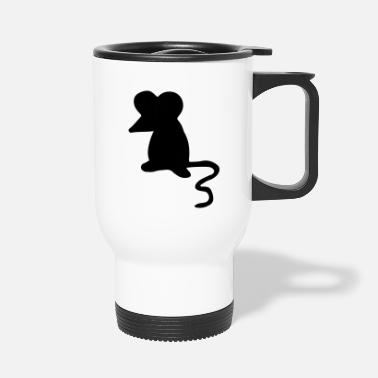 Mouse Mouse - mouse / mouse / gift & birthday - Travel Mug