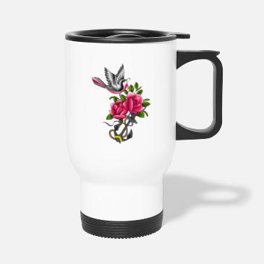 Tatoo Bird tatoo - Travel Mug