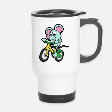 Stylé Funny Cute Cool Bike Bike - Mug thermos