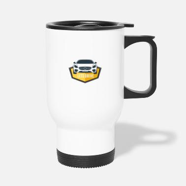 Drive Go By Car Lets drive - Let's go - Travel Mug