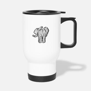 Backside Elephant Backside - Tazza termica