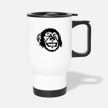 Animals Nature Singe, animal, nature, Affe, Tier, Natur, Singe - Travel Mug