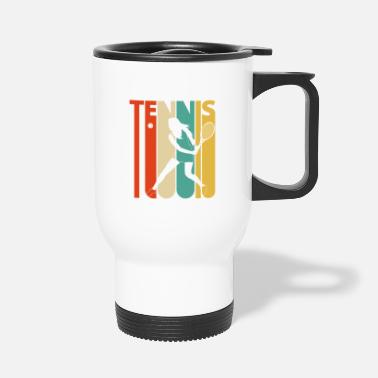 Retro Vintage Retro Tennis Player Gifts for Tennis lover - Travel Mug
