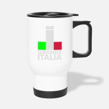 Football Underwear Italia Italy flag - grande italia - provocative - Travel Mug