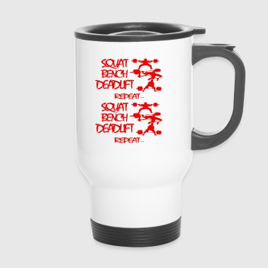REPEAT Powerlifting - Travel Mug