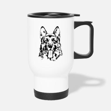 German Shepherd GERMAN SHEPHERD - GERMAN SHEPHERD Wilsigns - Travel Mug