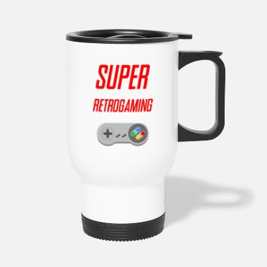 Retrogaming retrogaming SUPER - Tazza termica
