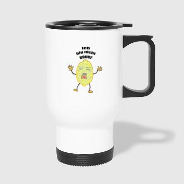 Lemon that is not sour - Travel Mug