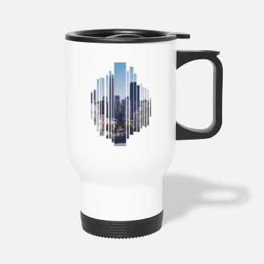 City City a big city - Travel Mug