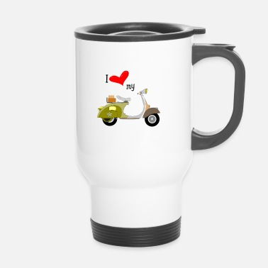 Scooter scooter - Travel Mug