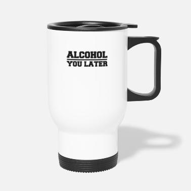 Bar Pub Drink alcohol bar pub smartphone number sms - Travel Mug