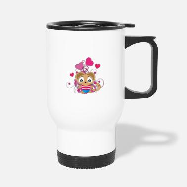 Cat Of The Cat Kuku average in cat age - Travel Mug