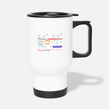 Breakdance Grapiece - Breakdance font - Mug isotherme