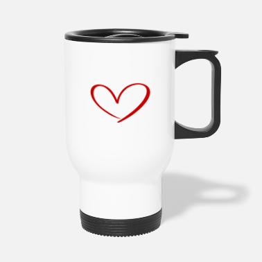 Relationship Hearts Against Hate 315 - Travel Mug