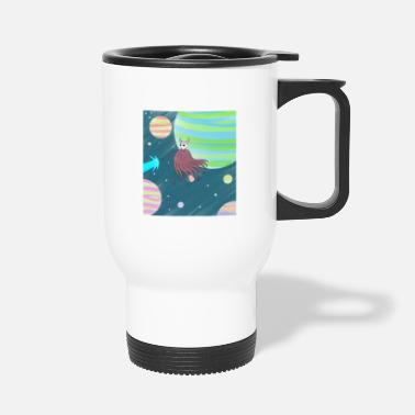 Space kameha - Travel Mug
