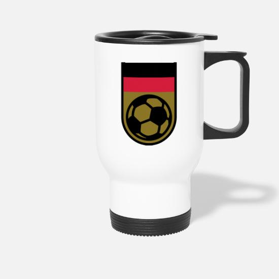 Soccer Mugs & Drinkware - Germany soccer champions - Travel Mug white