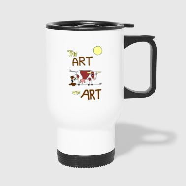 the ART OF ART - Travel Mug