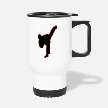 Kick The kick - Travel Mug
