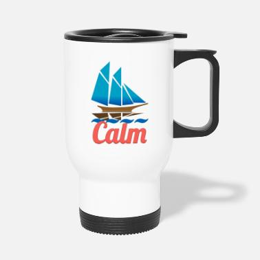 Calm calm - Travel Mug