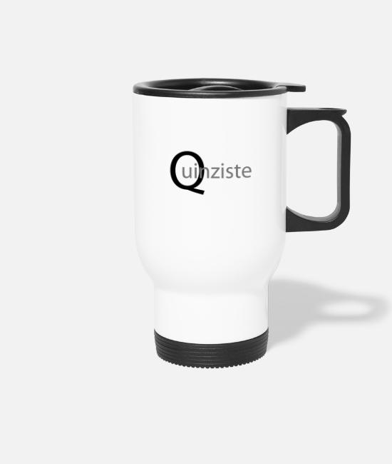 Lyon Rugby Toulousain Mugs & Drinkware - Quinzist - Travel Mug white