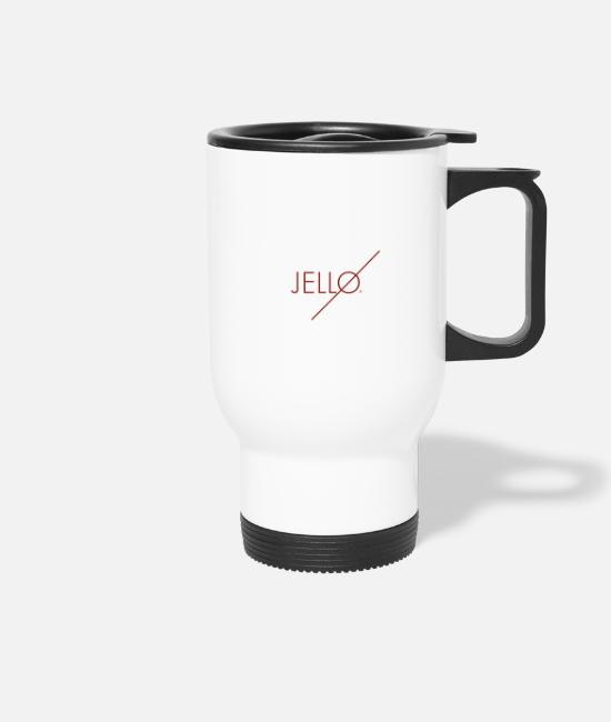Brand Mugs & Drinkware - Jellø - Travel Mug white