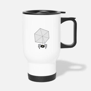 Net Net with spider - Travel Mug